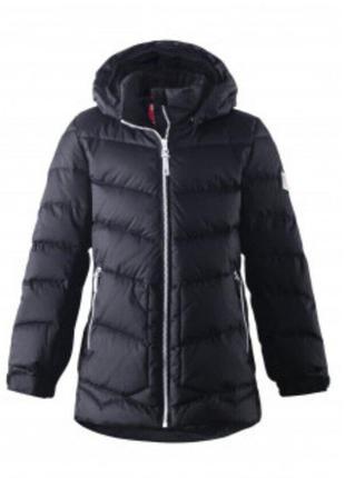 Зимняя пуховая куртка reima на девочку