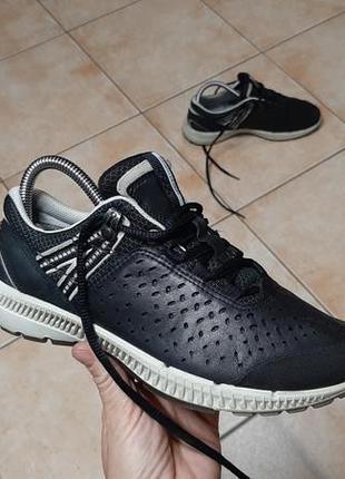Кожаные кроссовки,ботинки ecco (эко),
