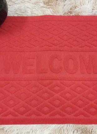 Придверний килимок прорезинений 38*58