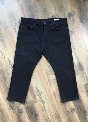 Фирменные мужские чёрные джинсы marks & spencer оригинал