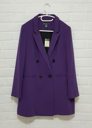 Стильный двубортный пиджак