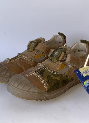 Туфлі bartek шкіряні розмір 31 (19,5 см)