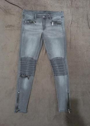 Крутые штаны джинсы скинни узкачи суперстрейч