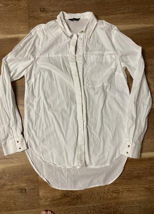 Белая рубашка f&f