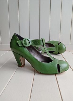Яскраві туфлі next шкіряні