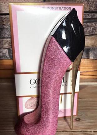 Тестер carolina herrera good girl fantastic pink
