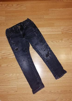 Джинсы штаны на мальчика
