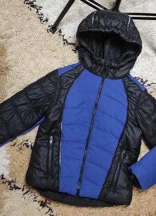 Фирменная теплая куртка engelbert strauss на 5-6 лет - демисезон / еврозима