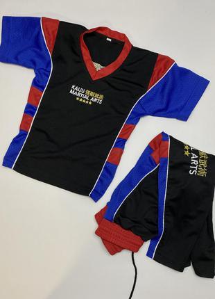 Костюм спортивный martial arts, футболка+штаны