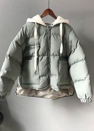 Куртка. осень. зима. оливка