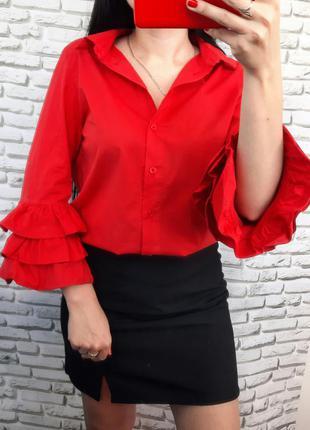 Рубашка, блузка с рукавами