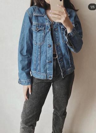 Джинсовая курточка джинсовка marco polo
