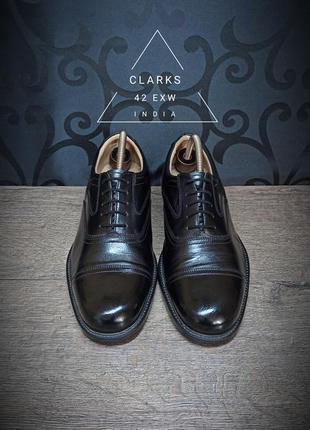 Ботинки clarks 42 exw (28cm) india