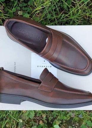 Мужские кожаные туфли ecco