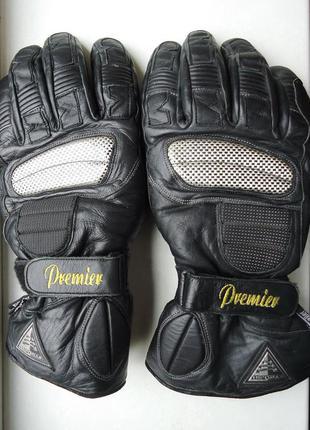 Мотоперчатки  premier кожаные (l)