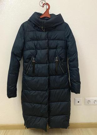 Пальто пуховик куртка зима