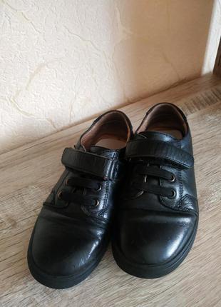 Кожанные туфли 29 размер