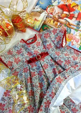 Праздничное платье dulces 74-80см, испания