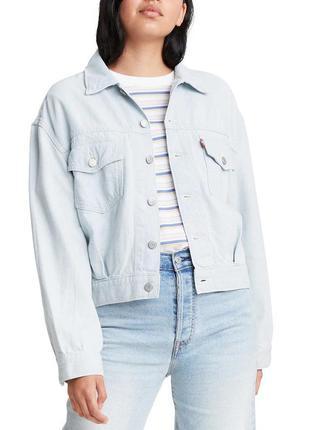 Джинсовый пиджак levis