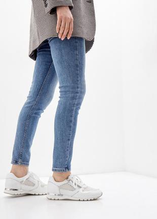Белые женские кроссовки caprice, германия