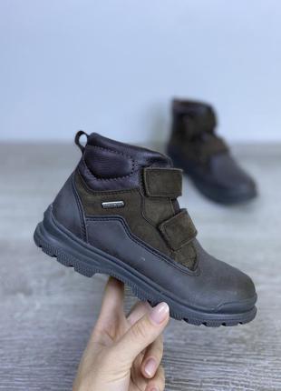 Мягкие качественные ботинки  geox