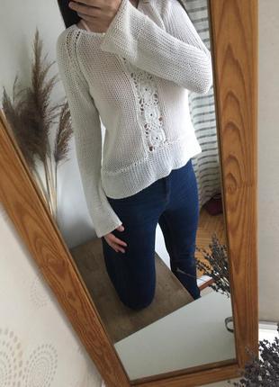 Вязанная кофта, свитер h&m