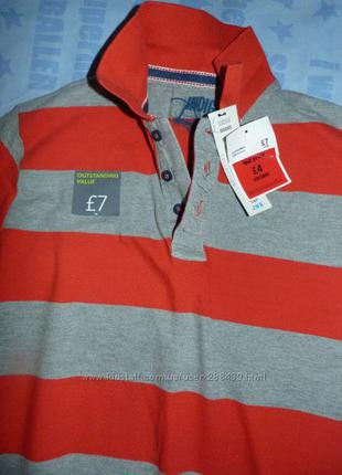 Поло футболкаmarks&spenser р. 152 на 11-12 лет