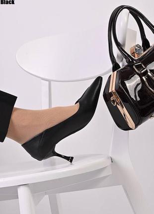 Туфлі жіночі класичні чорні