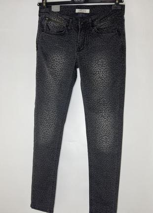 Джинсы размер л джинсы тигровый принт джинсы автоледи