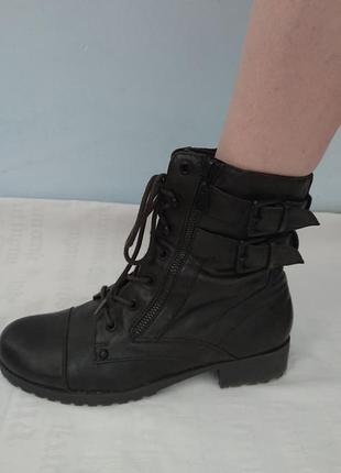 Суперские ботинки guess (оригинал), демисезон/ экокожа р.38