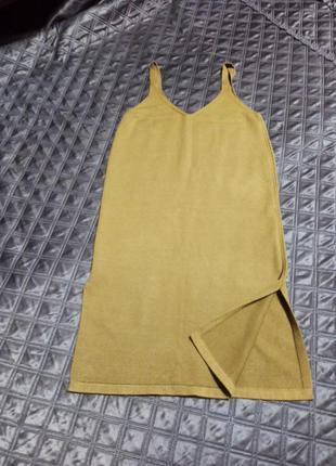 Платье трикотаж осень