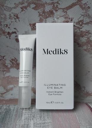 Освітлювальний бальзам для шкіри навколо очей medik8 illuminating eye balm