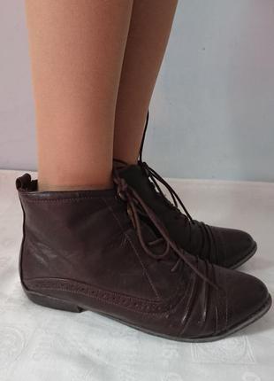 Актуальные ботинки atmosphere, практичные туфли на шнуровке, утеплены флисом