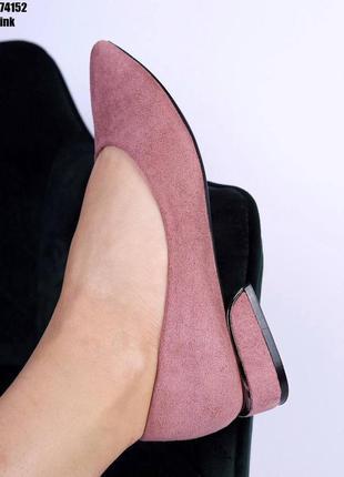 Туфлі жіночі маленький каблук