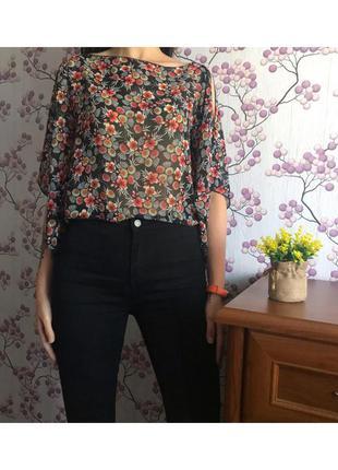 Легкая красивая блуза свободная блузка be beau