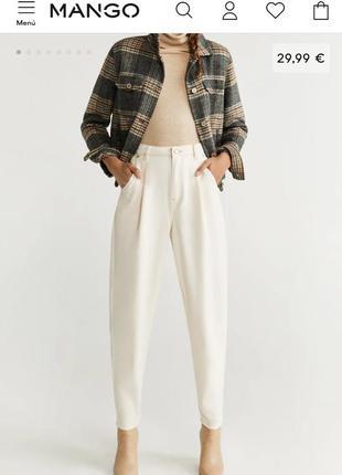 Джинсы джинси slim baggy jeans mango