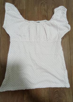 Блуза от vero moda с коротким рукавом