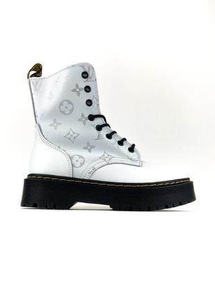 Ботинки женские  jadone x lv white (термо)