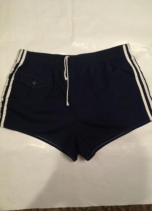 Стильные шорты купальные короткие adidas - оригинал, новая коллекция, винтаж