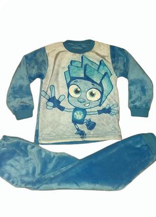 Детская махровая пижама  тёплая