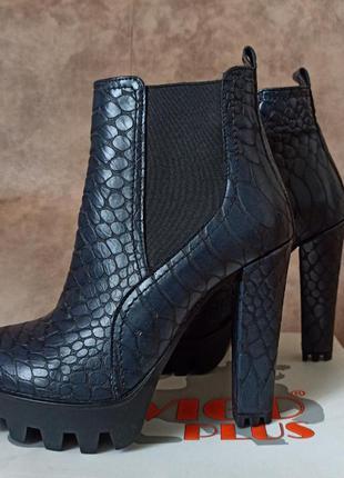Натуральная кожа! супер качество! новые ботинки на осень и не холодную зиму