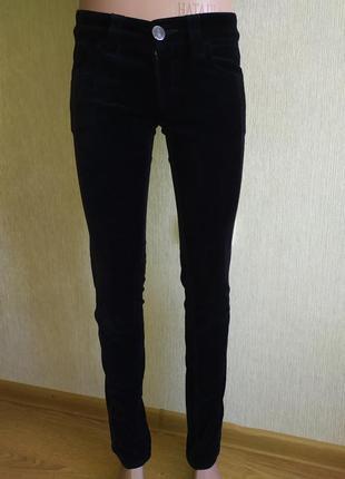 Фирменные велюровые штаны брюки , р.36,38