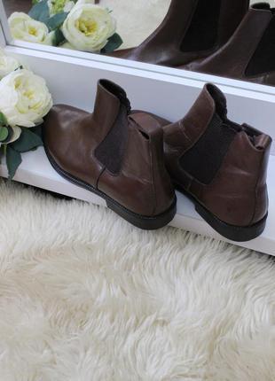 Кожанные ботинки челси рр43-44