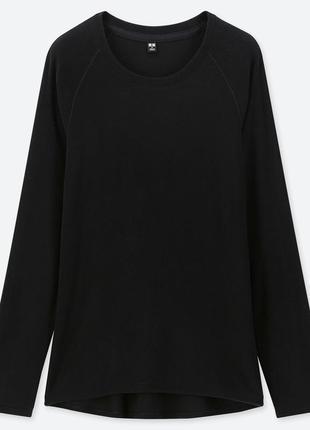 Женская футболка с длинным рукавом с эластичным флисом heattech
