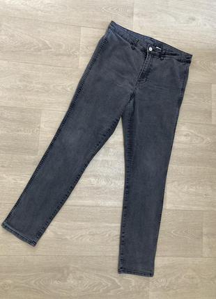 🍀тонкие джинсы скины батал denim co