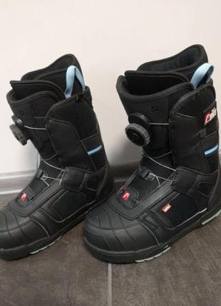 Ботинки head для сноуборда 34-35 р 225 мм шнуровка воа