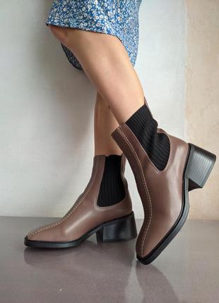"""Невероятно стильные и красивые ботинки """"челси"""""""