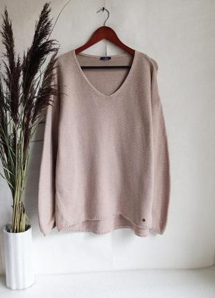 ✨бомбезний , натуральной , бавовняний светр, подовжена спинка ✨