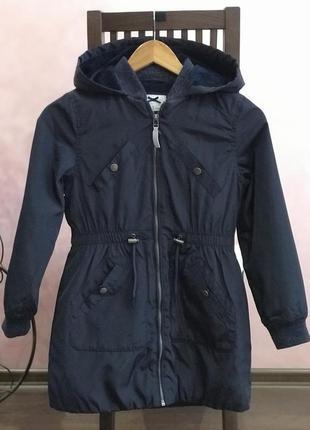 Куртка-плащ, осінньо-зимова.