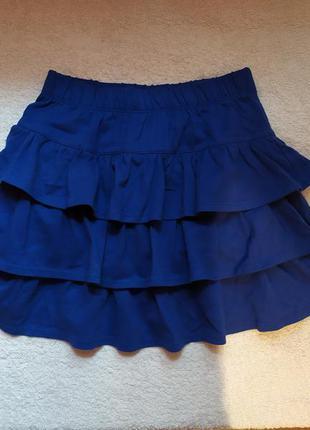 Красивая юбка-шорты gymboree на 6-7 лет не сэконд